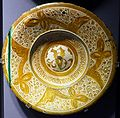 Dish, Spain, Valencia, 1500s, ceramic - Museum of Anthropology, University of British Columbia - DSC09020.jpg