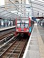Docklands Light Railway 31 Crossharbour, foregone London Arena (2011) (5872694292).jpg