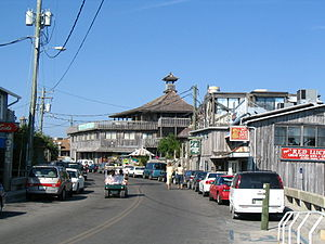 Cedar Key, Florida - Dock Street in Cedar Key