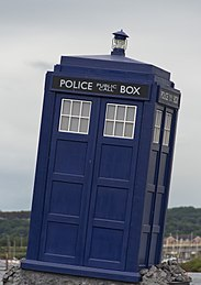 Author: Steve Collis from Melbourne, Australia. TARDIS owned by the BBC