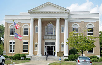 Dodge County Courthouse (Georgia) - Image: Dodge County Courthouse, Eastman, GA, US