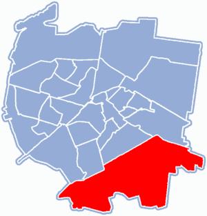 Osiedle Dojlidy, Białystok - Location of Osiedle Dojlidy