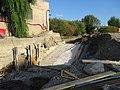 Dolní Černošice, Blukský mlýn, přepad u elektrárny.jpg