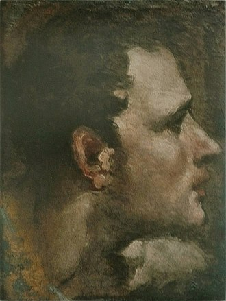 "Head - ""Head of a young man"" – Domenico Beccafumi"