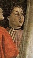 Domenico ghirlandaio, amerigo vespucci, ognissanti, Firenze