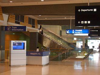Domestic Airport railway station, Sydney - Image: Domestic Terminal Railway 3