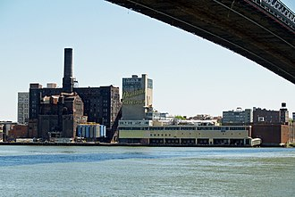 Domino Foods - Landmark Domino Sugar plant in Williamsburg (Brooklyn), New York