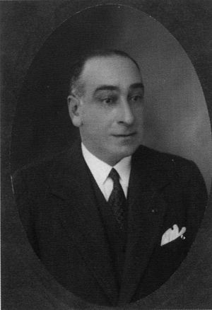 Angelo Donati - Angelo Donati in Paris in 1930