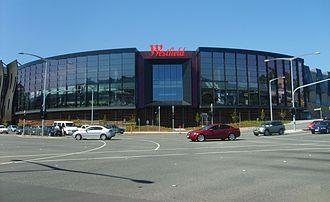 Westfield Doncaster - Westfield Doncaster as seen from the Doncaster Road and Williamsons Road intersection.