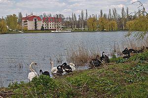 Kirsha Training Centre - Image: Donetsk Kirsha Training Centre 1