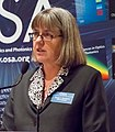 Donna Strickland speaking at OSA's Leadership meeting in 2013 (cropped).jpg