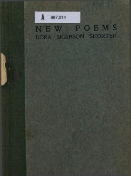 File:Dora Sigerson Shorter - New Poems.djvu
