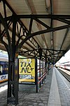 Perronoverkapping behorende bij het complex ns-station Dordrecht