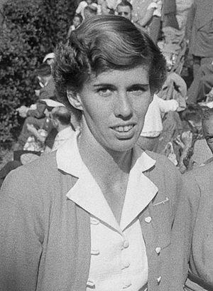 Doris Hart - Hart in 1953