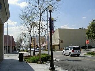 Downey, California - Downtown Downey