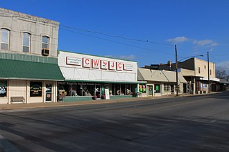 Dublin, Texas - Image: Downtown Dublin, Texas