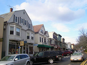 Katonah, New York - Looking north along Katonah Avenue