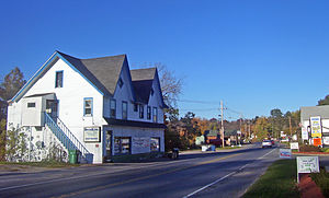 Kerhonkson, New York - Center of town along Route 209