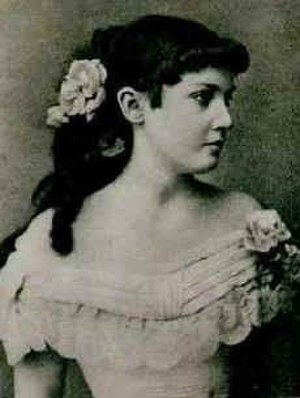 Draga Mašin - Draga Mašin in her younger days (date unknown)