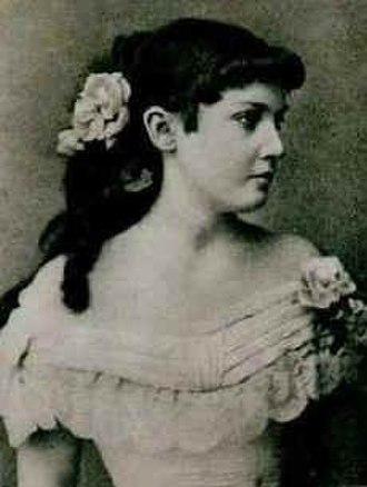 Draga Mašin - Draga Mašin in her younger days (date unknown)