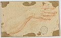Drawing, Study for the Right Forearm and Hand of a Woman, 18th century (CH 18119421).jpg
