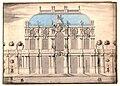 Dresden, Wallpavillon Vorentwurf, fünfachsiges Gebäude.jpg