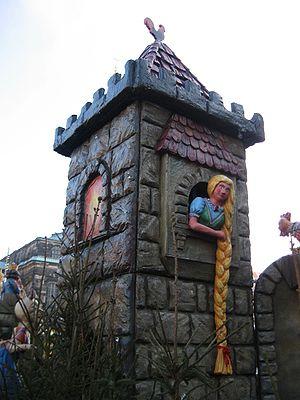 Rapunzel - Rapunzel in Dresden, Saxony, Germany.