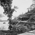 Drewry's Bluff, Virginia. Exterior of Confederate Fort Darling. Masked battery.jpg