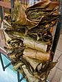 Dried bundles of leaves of Ilex guayusa.jpg