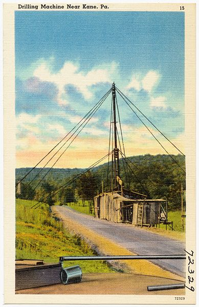 Fichier:Drilling machine, near Kane, Pa (72329).jpg