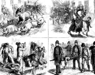 1875 Dublin whiskey fire