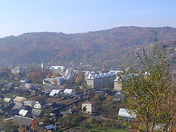 The mountain village of Dubove