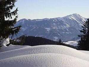 Dürrenstein (Austria) - Dürrenstein seen from Königsberg