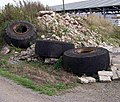 Dumped Wheels - geograph.org.uk - 242942.jpg