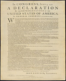 photograph about Printable Copy of the Declaration of Independence called Actual physical background of the United Claims Declaration of