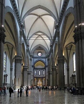 Inside Santa Maria del Fiore (Florence)