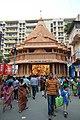 Durga Puja Pandal with Spectators - Singhi Park - Ramani Chatterjee Road - Kolkata 2014-10-02 8991.JPG