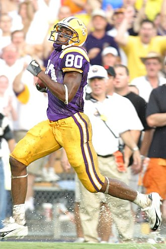 Dwayne Bowe - Bowe playing at LSU