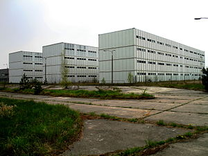 Żarnowiec Nuclear Power Plant - Cloakroom halls