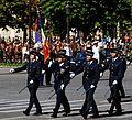 ENSOSP flag guard Bastille Day 2008.jpeg