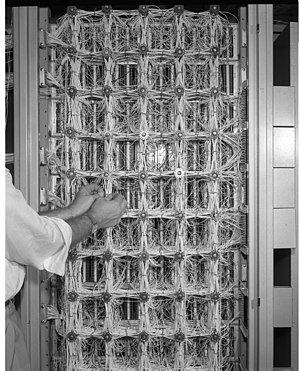 Electronic Recording Machine, Accounting - The wiring in an ERMA machine