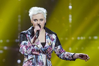 Germany in the Eurovision Song Contest 2014 - Ela Steinmetz performing during rehearsal
