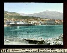 ETH-BIB-Ajaccio, Panorama vom Molo, I., (links)-Dia 247-11853.tif