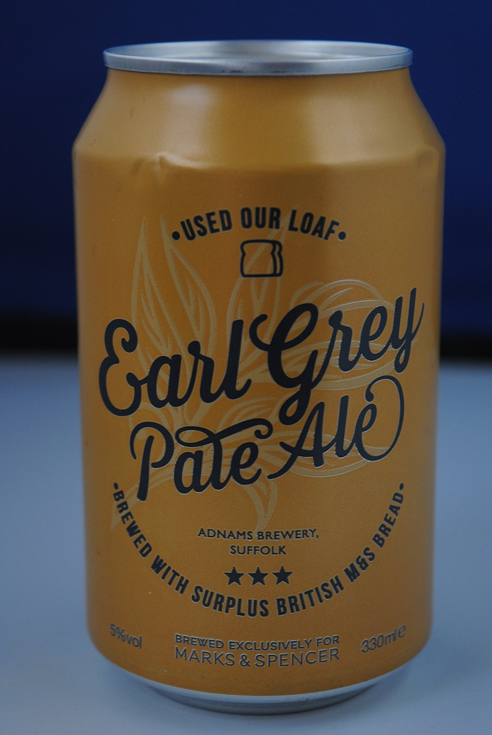 Earl Grey Pale Ale can - Andy Mabbett