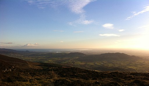 Early evening view from Slieve Gullion - panoramio