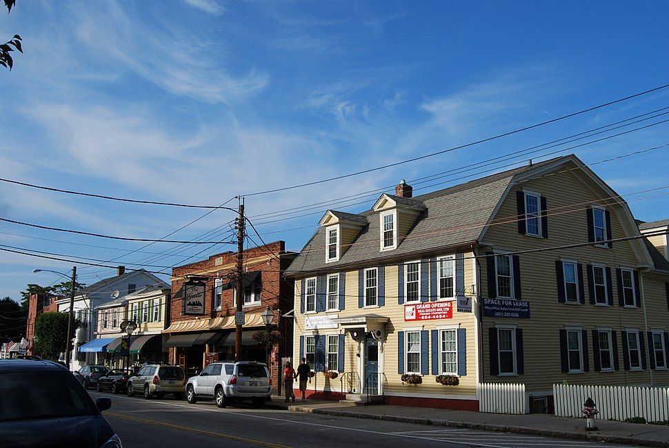 Historic District in downtown East Greenwich