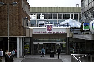 East Kilbride Shopping Centre - The shopping centre in 2008
