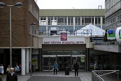 How to get to East Kilbride Shopping Centre with public transport- About the place