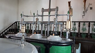 Cornish engine - Image: East Pool Mine Taylor Shaft control steam cylinders