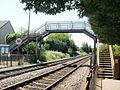 Eastbrook railway station footbridge - geograph.org.uk - 1919910.jpg
